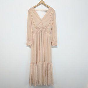 Sandro Blush Pink Maxi Gown